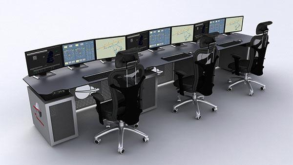 Mobiliario técnico. Centros de control