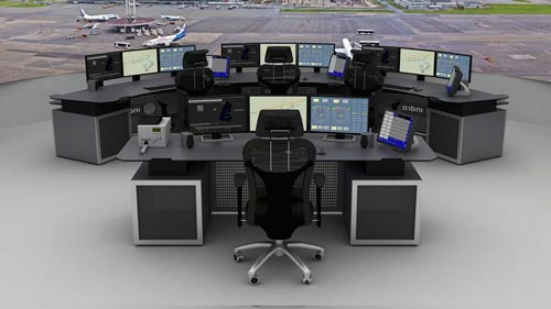Mobiliario técnico. Simuladores